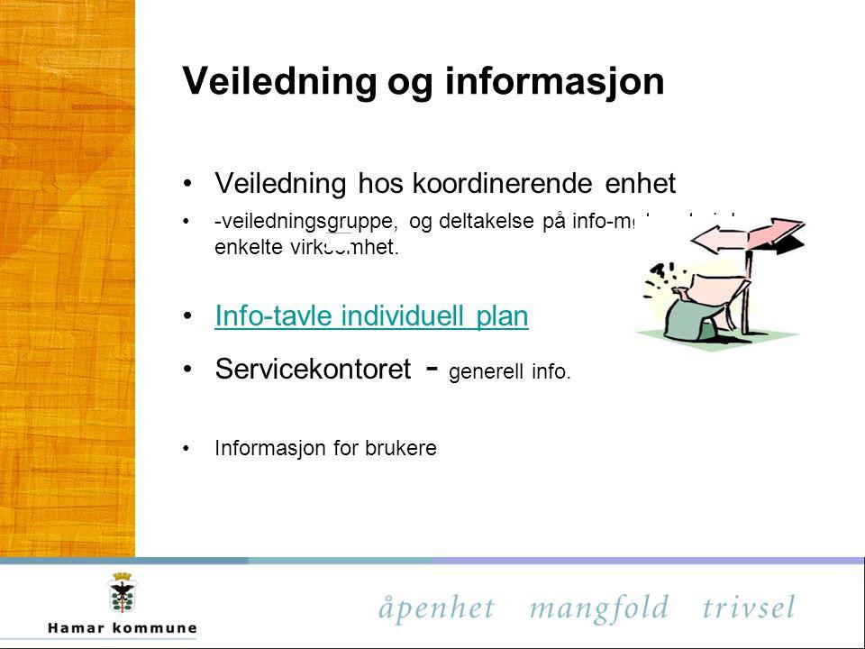 Veiledning og informasjon