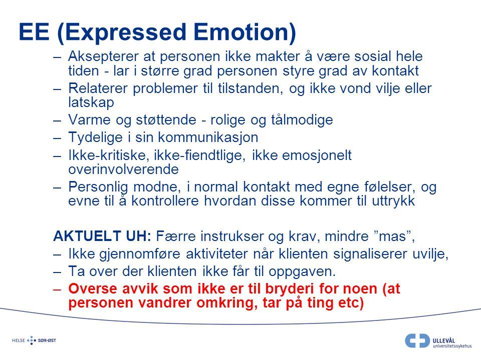 EE (Expressed Emotion)