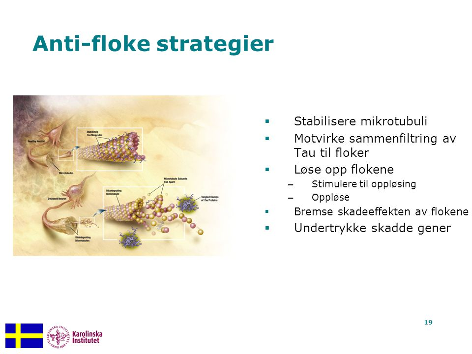 Anti-floke strategier