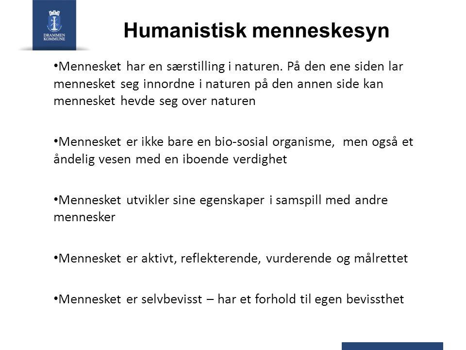 Humanistisk menneskesyn
