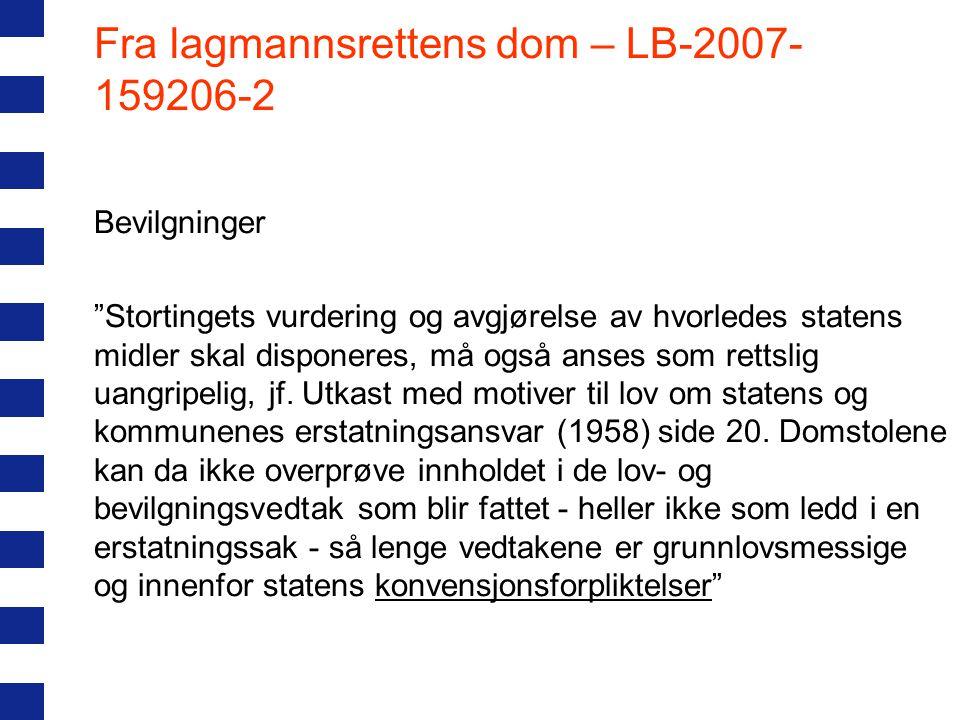 Fra lagmannsrettens dom – LB-2007-159206-2