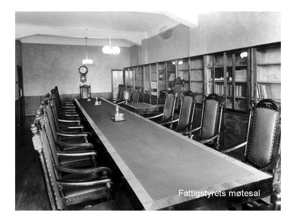 Fattigstyrets møtesal