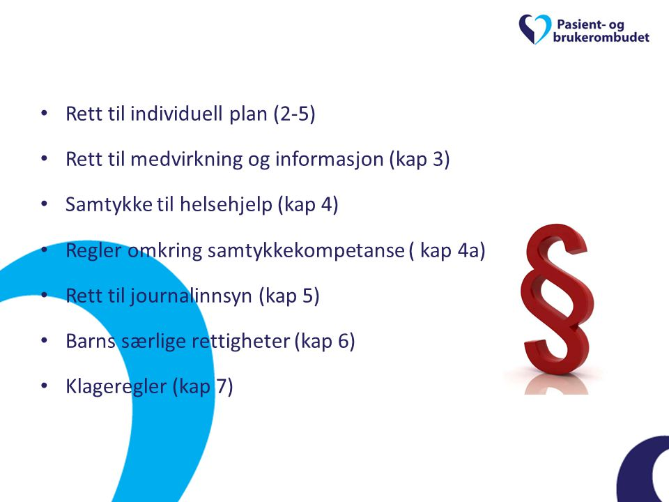 Rett til individuell plan (2-5)