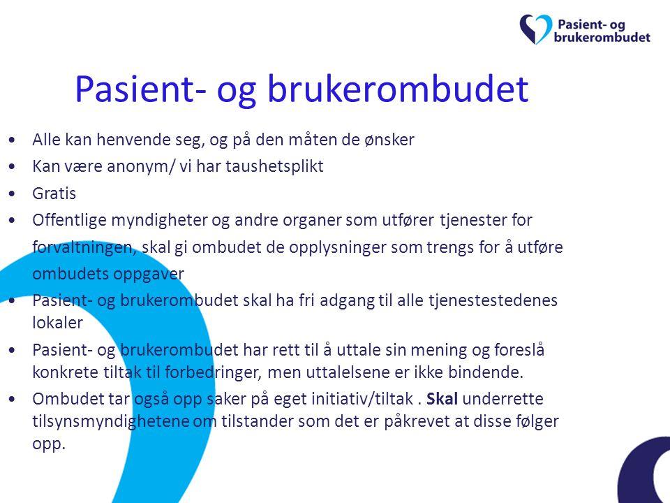 Pasient- og brukerombudet