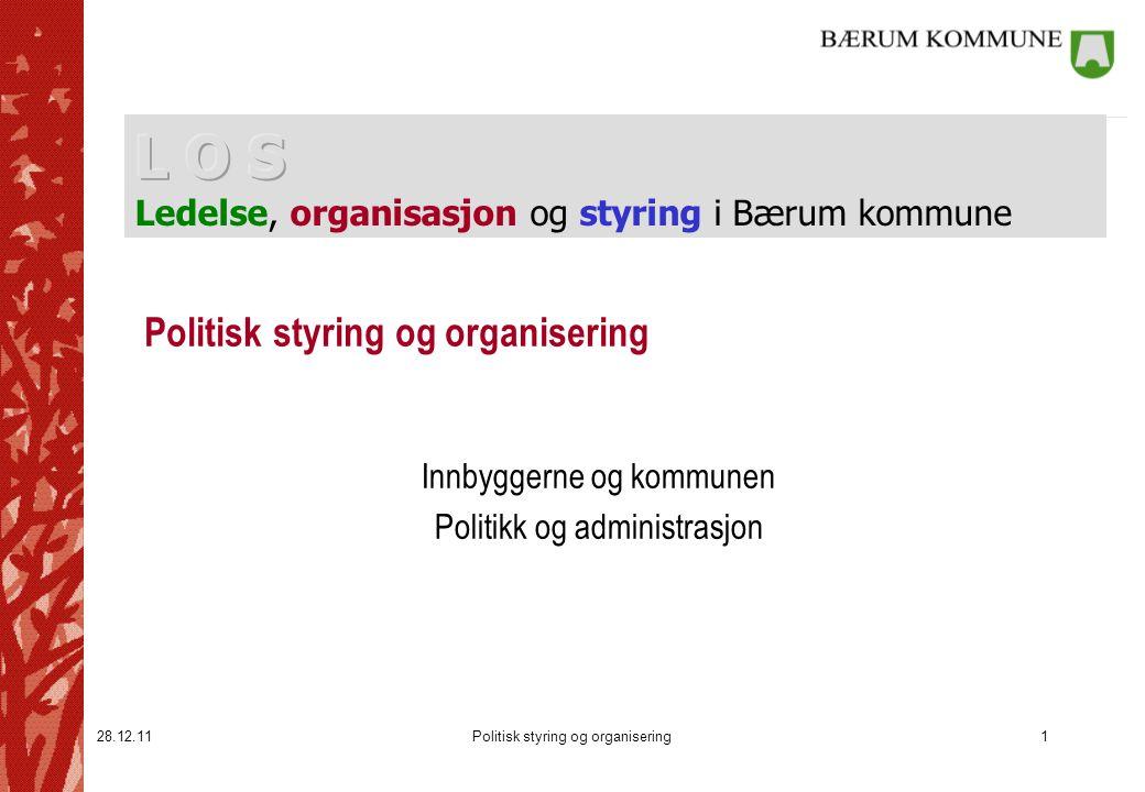 Politisk styring og organisering