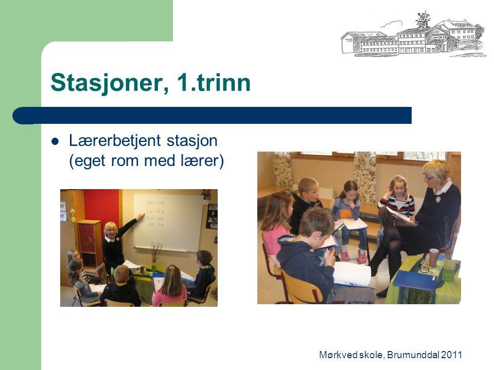 Mørkved skole, Brumunddal 2011