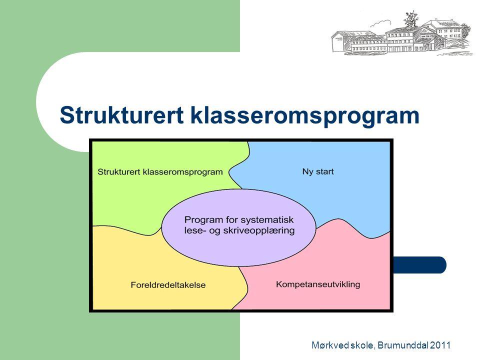 Strukturert klasseromsprogram