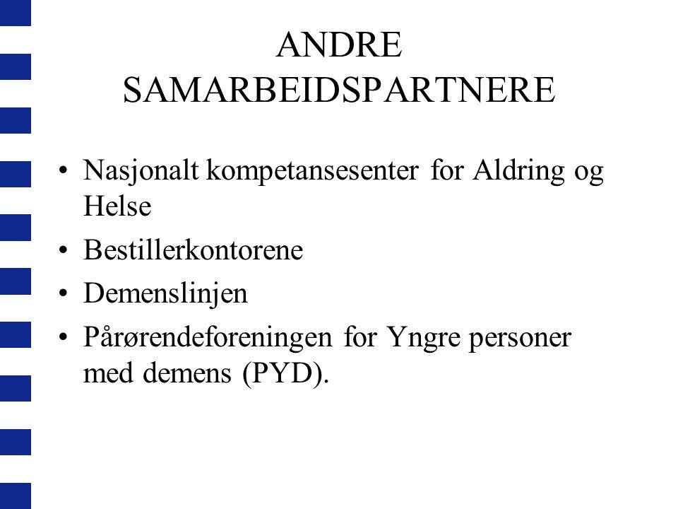 ANDRE SAMARBEIDSPARTNERE