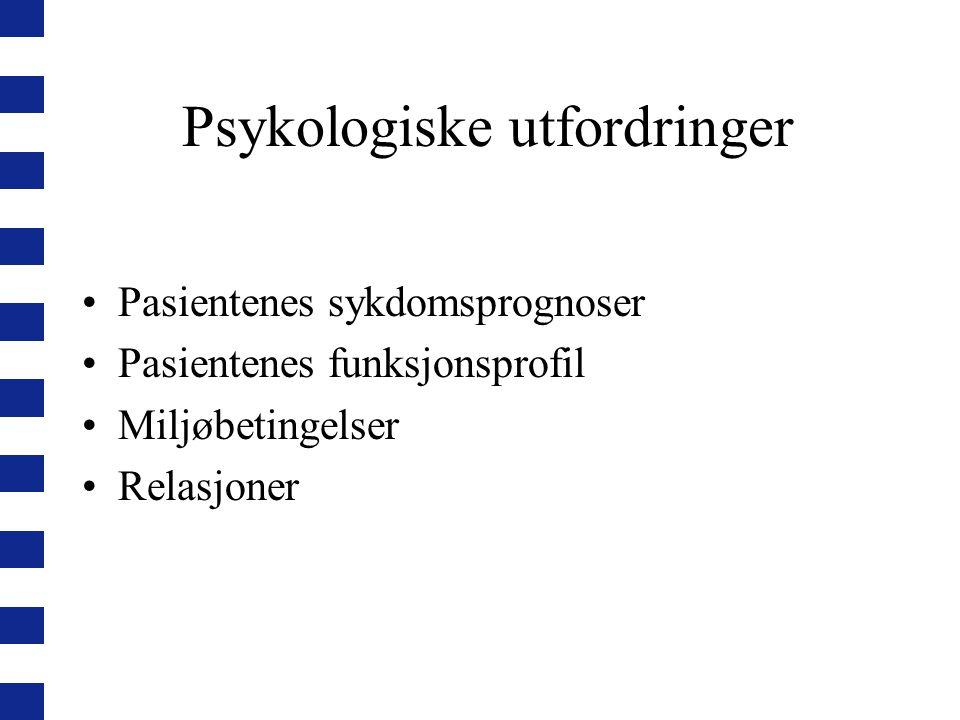 Psykologiske utfordringer
