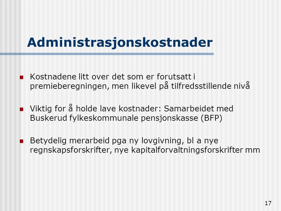 Administrasjonskostnader