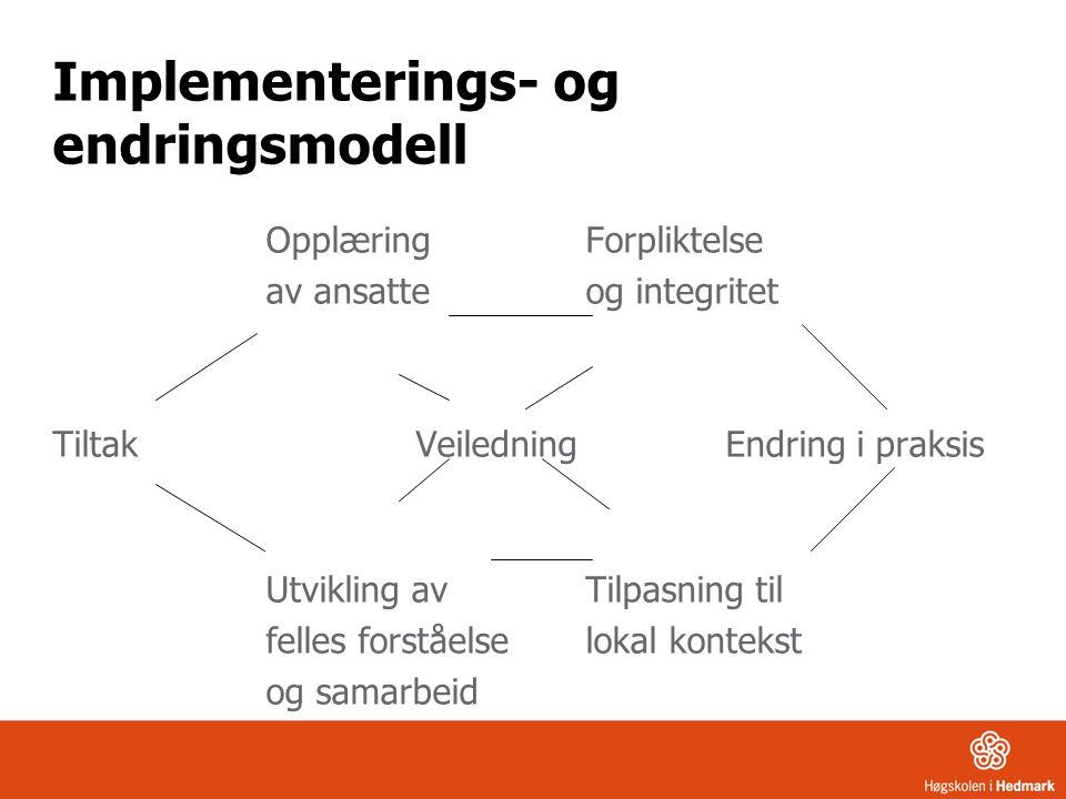 Implementerings- og endringsmodell