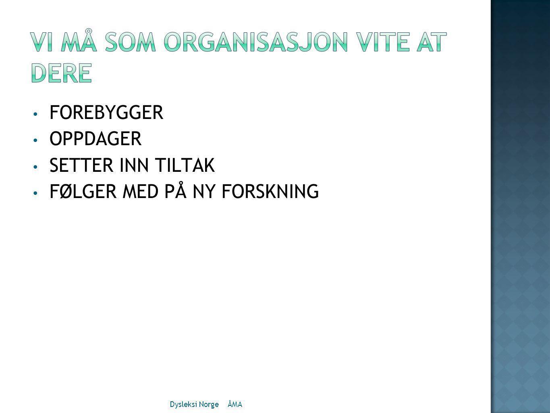 FØLGER MED PÅ NY FORSKNING