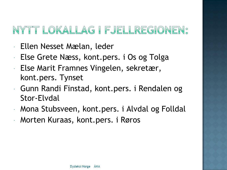 Ellen Nesset Mælan, leder Else Grete Næss, kont.pers. i Os og Tolga