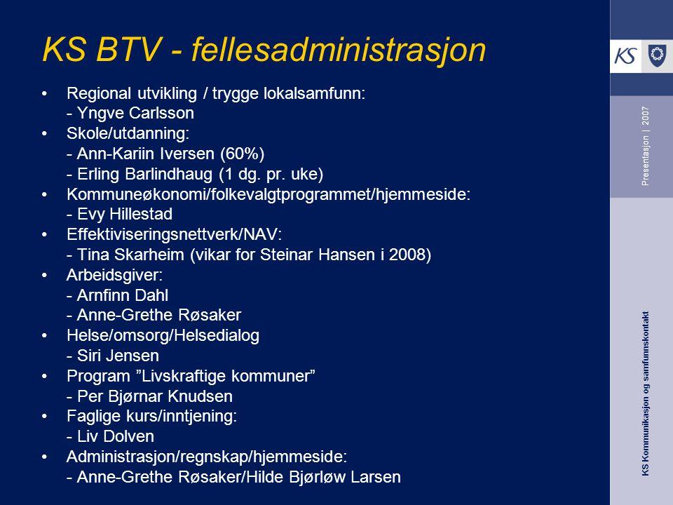 KS BTV - fellesadministrasjon