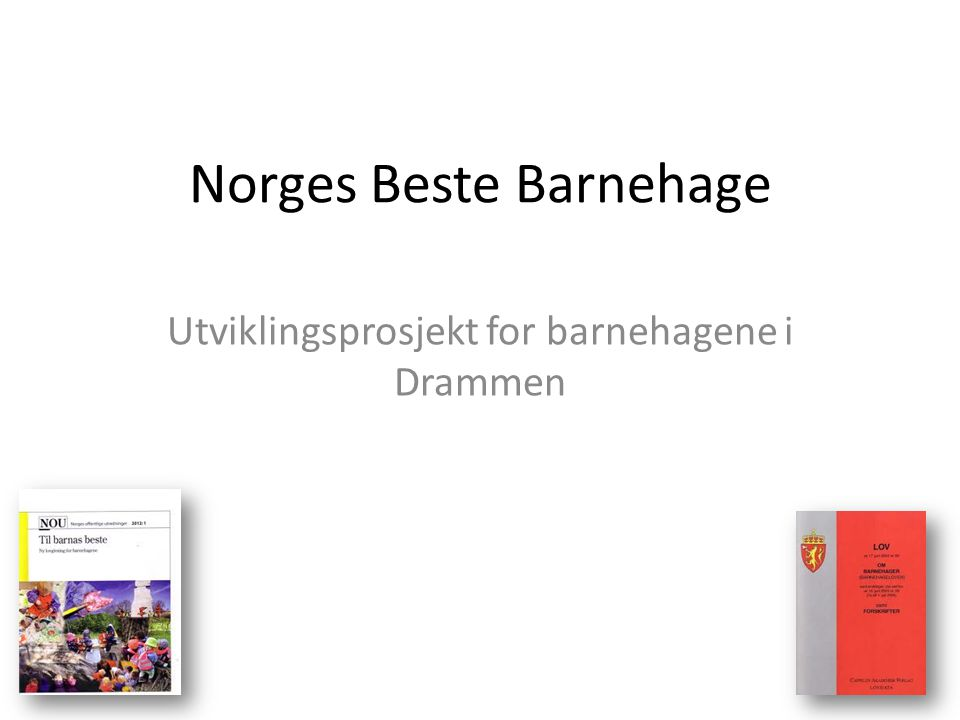 Norges Beste Barnehage