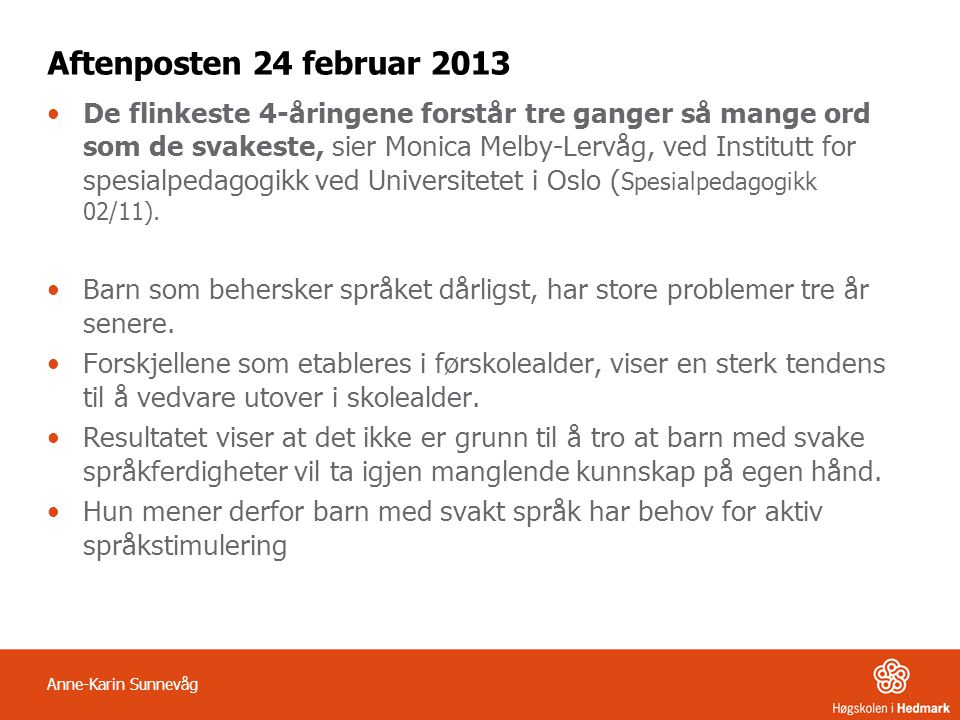 Aftenposten 24 februar 2013