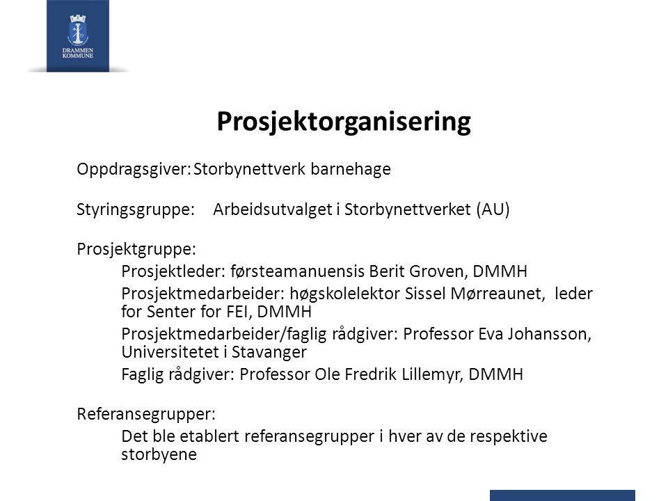 Prosjektorganisering