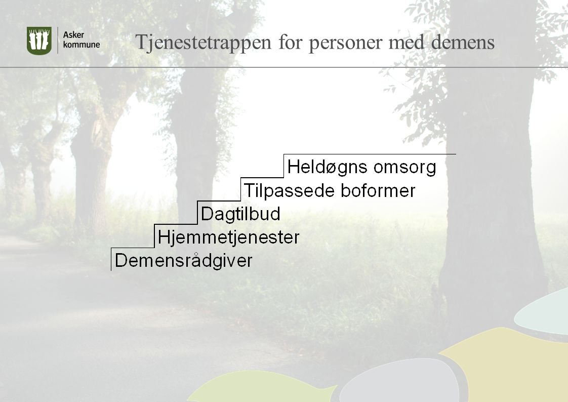 Tjenestetrappen for personer med demens