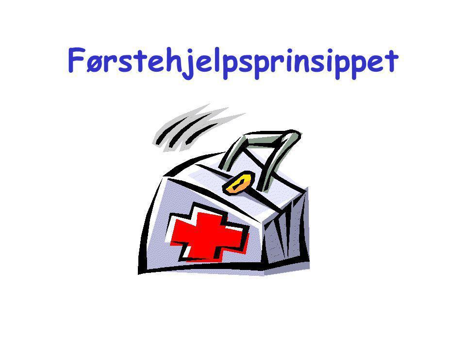 Førstehjelpsprinsippet