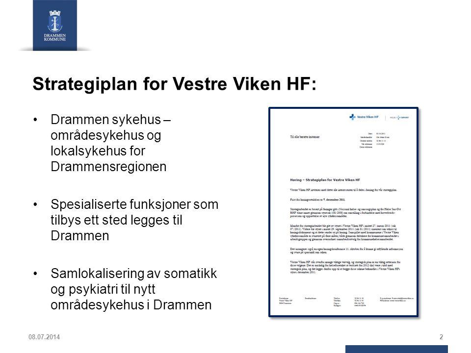 Strategiplan for Vestre Viken HF:
