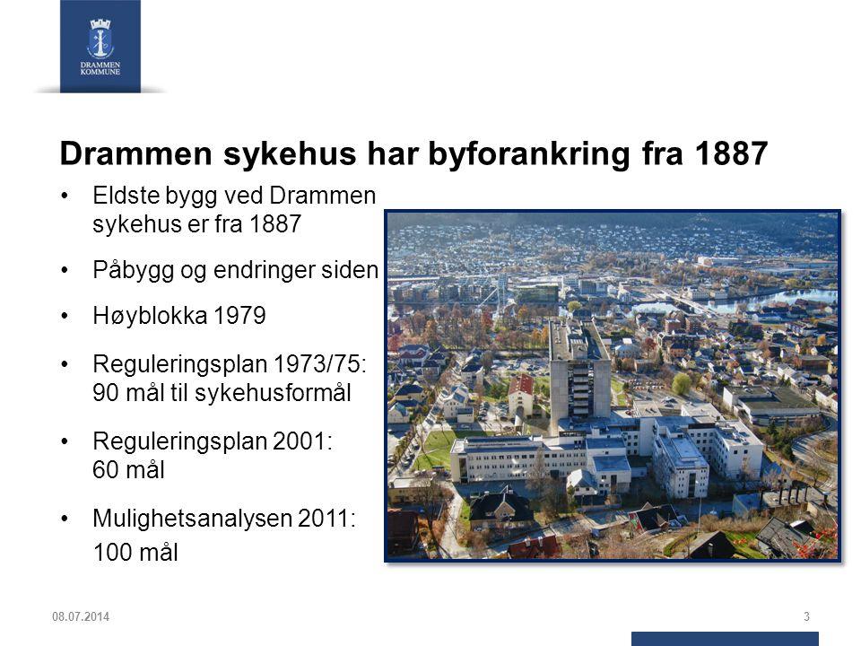 Drammen sykehus har byforankring fra 1887