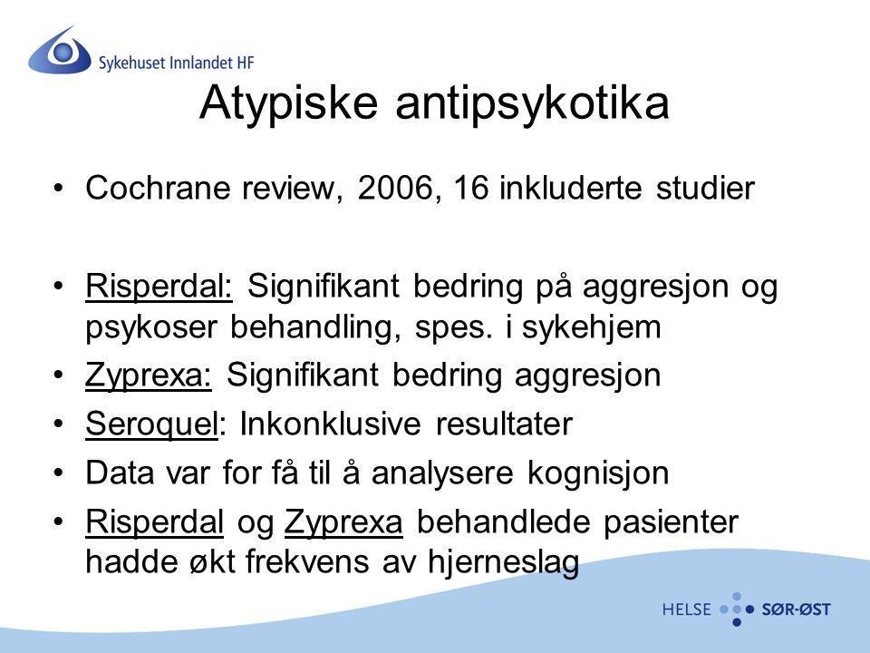 Atypiske antipsykotika
