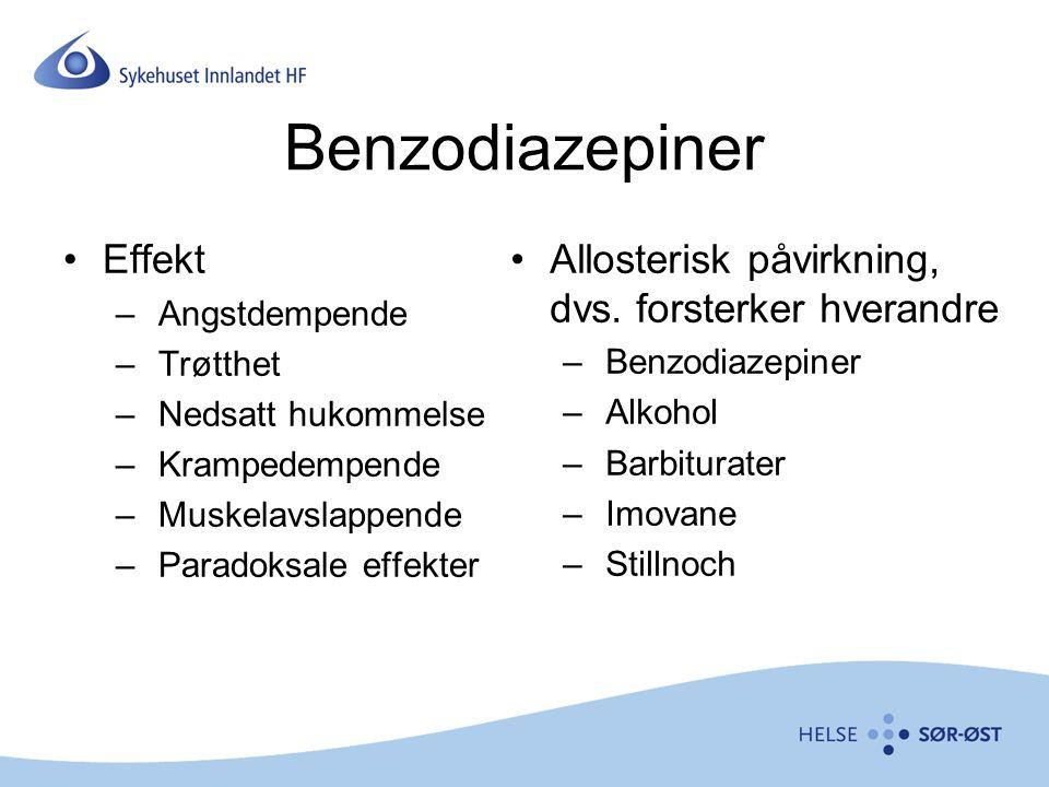 Benzodiazepiner Effekt