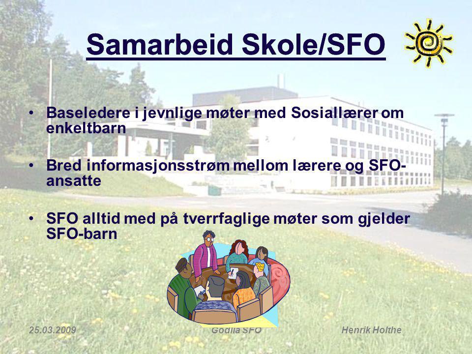 Samarbeid Skole/SFO Samarbeid Skole/SFO