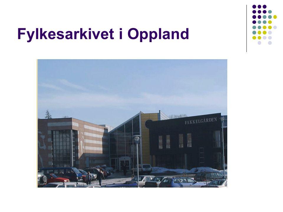 Fylkesarkivet i Oppland
