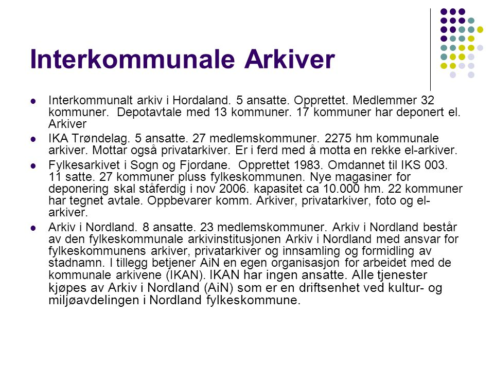 Interkommunale Arkiver