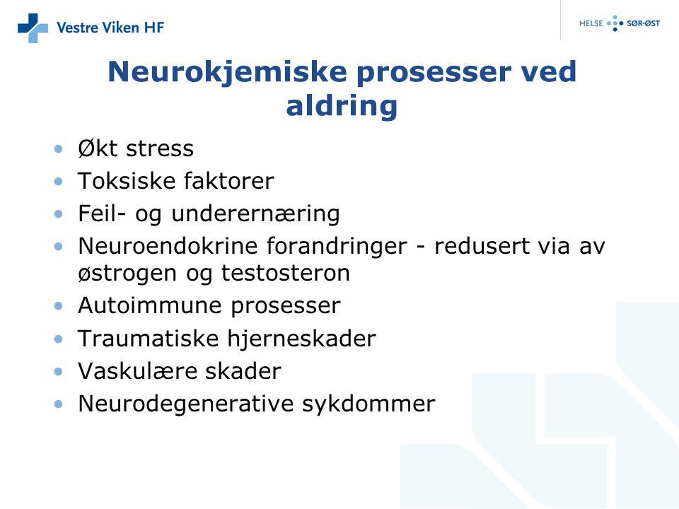 Neurokjemiske prosesser ved aldring