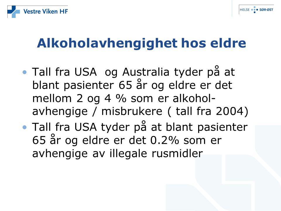 Alkoholavhengighet hos eldre
