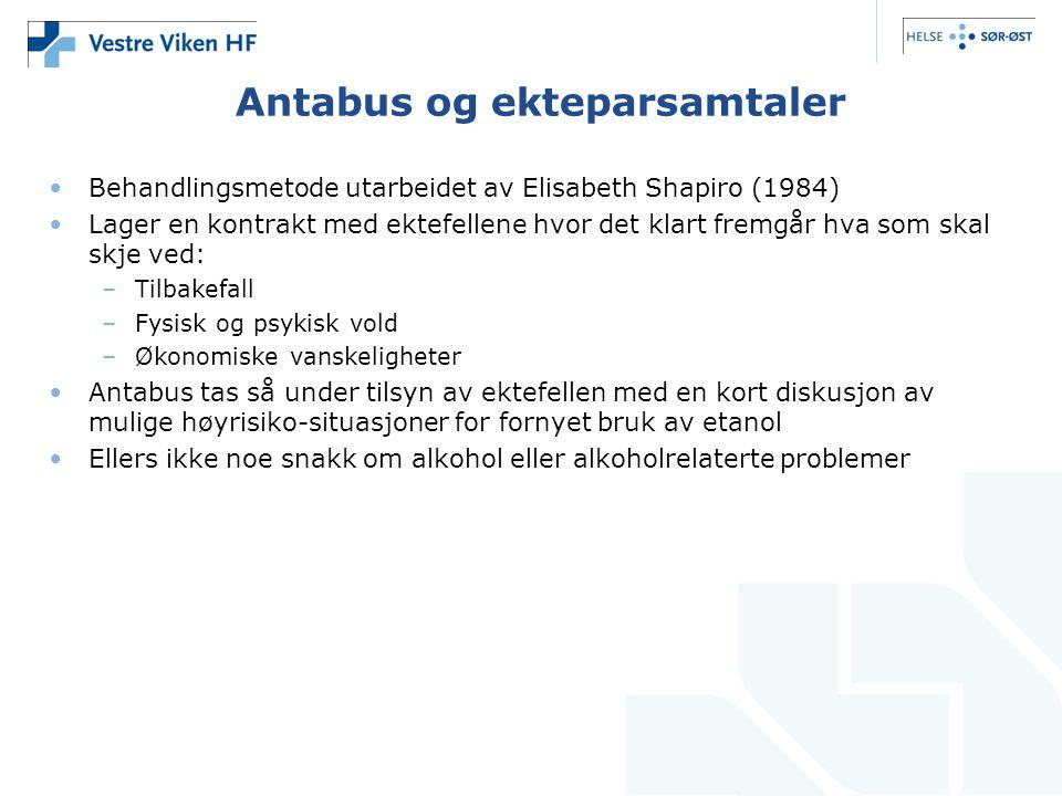 Antabus og ekteparsamtaler