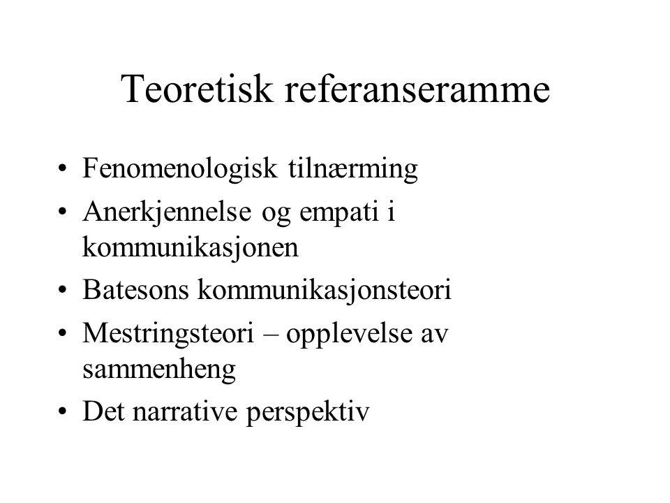 Teoretisk referanseramme