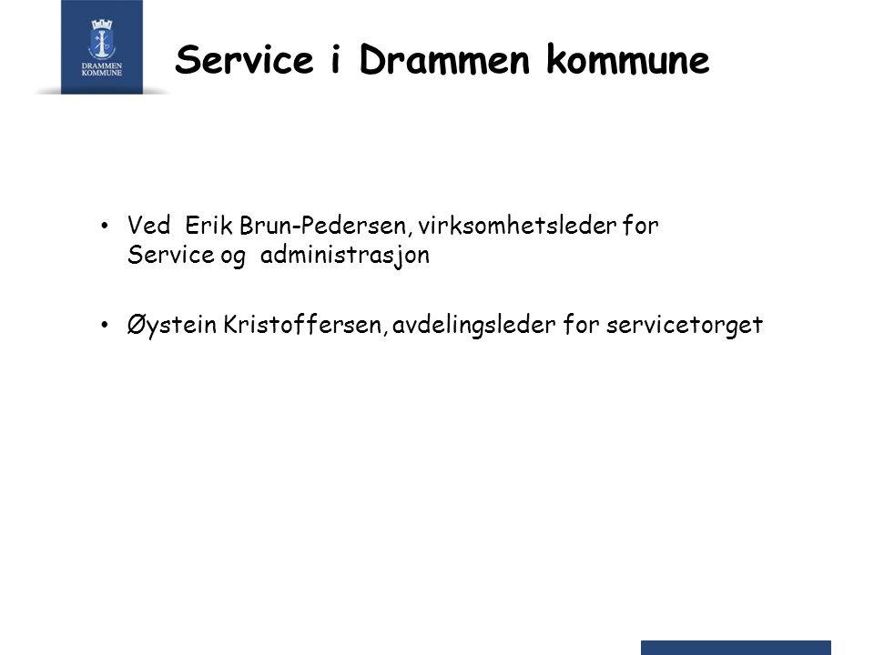 Service i Drammen kommune