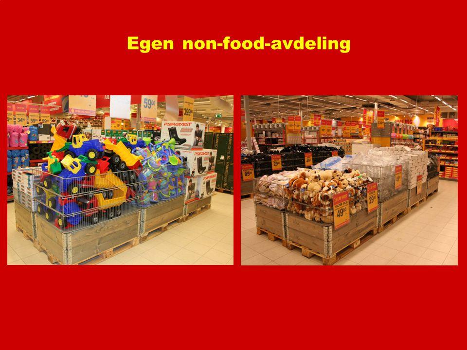 Egen non-food-avdeling