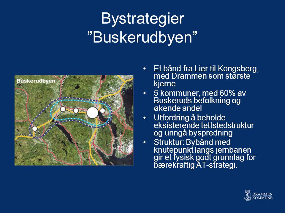 Bystrategier Buskerudbyen