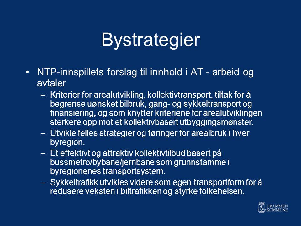 Bystrategier NTP-innspillets forslag til innhold i AT - arbeid og avtaler.