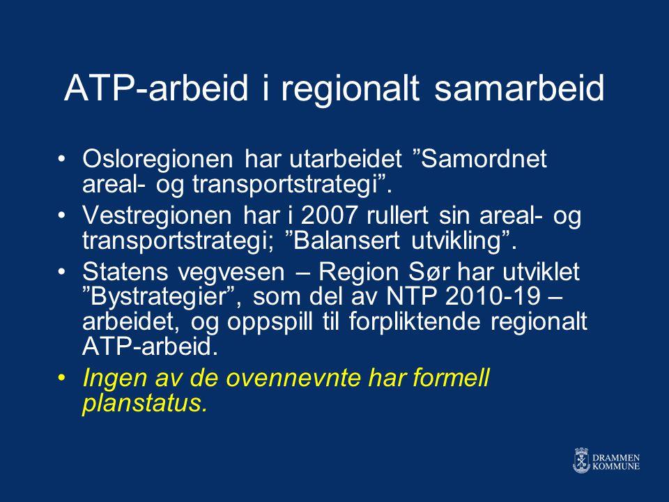ATP-arbeid i regionalt samarbeid