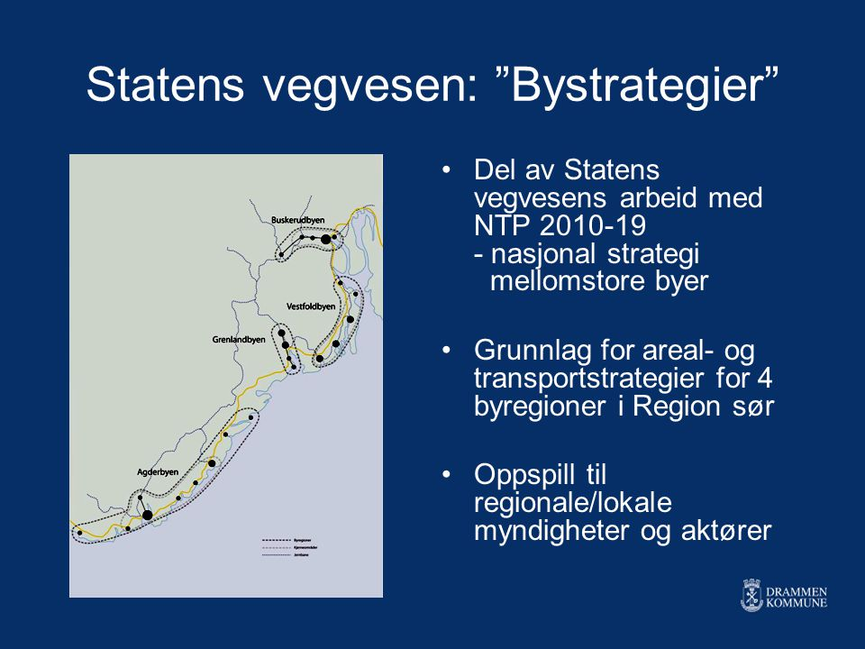 Statens vegvesen: Bystrategier