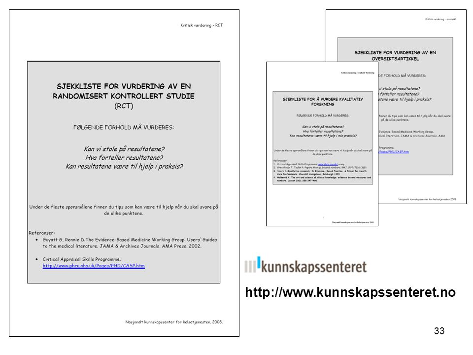 http://www.kunnskapssenteret.no