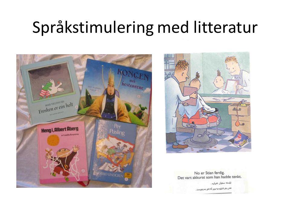 Språkstimulering med litteratur