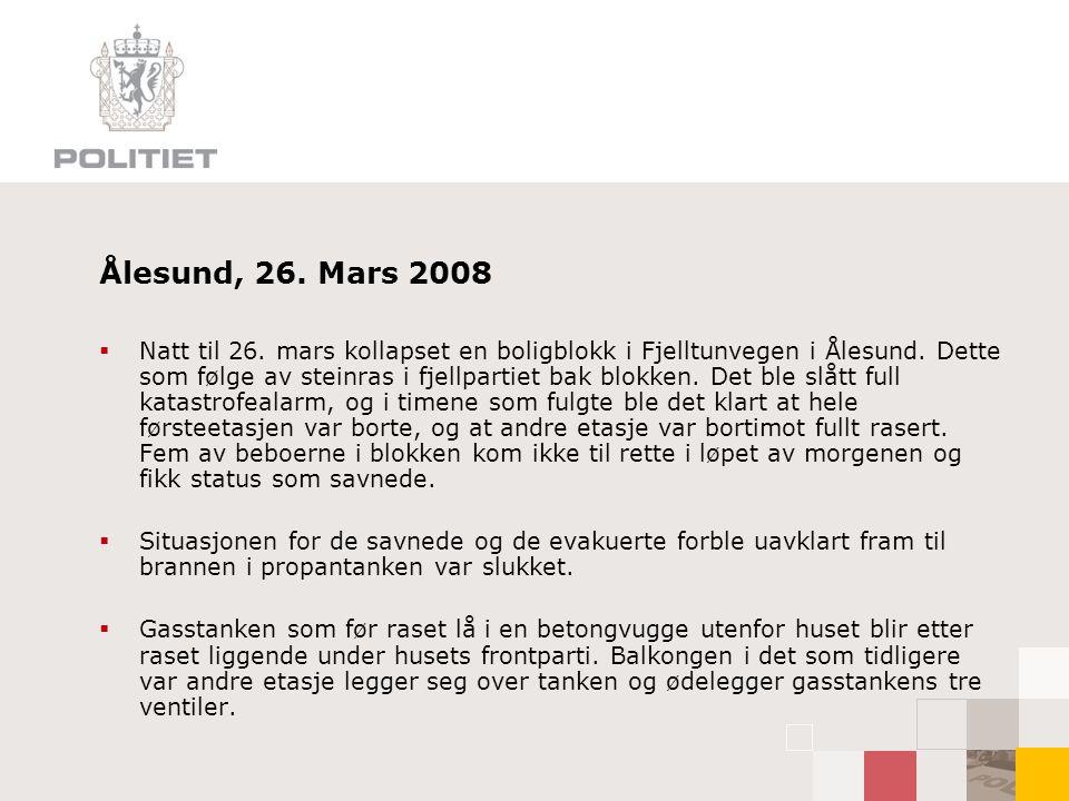 Ålesund, 26. Mars 2008