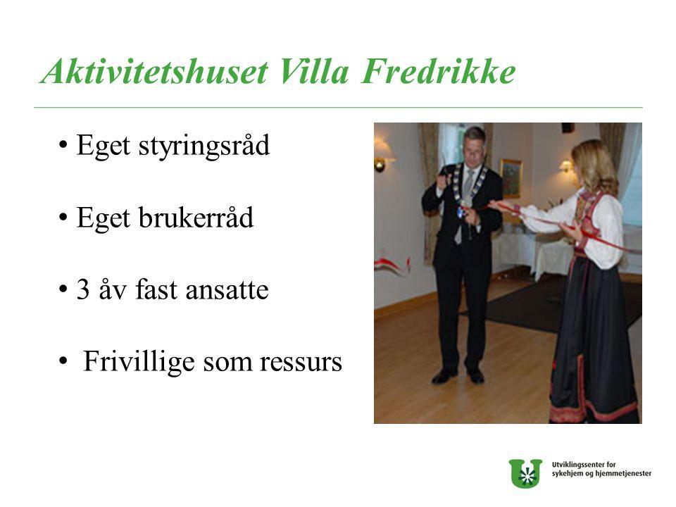 Aktivitetshuset Villa Fredrikke