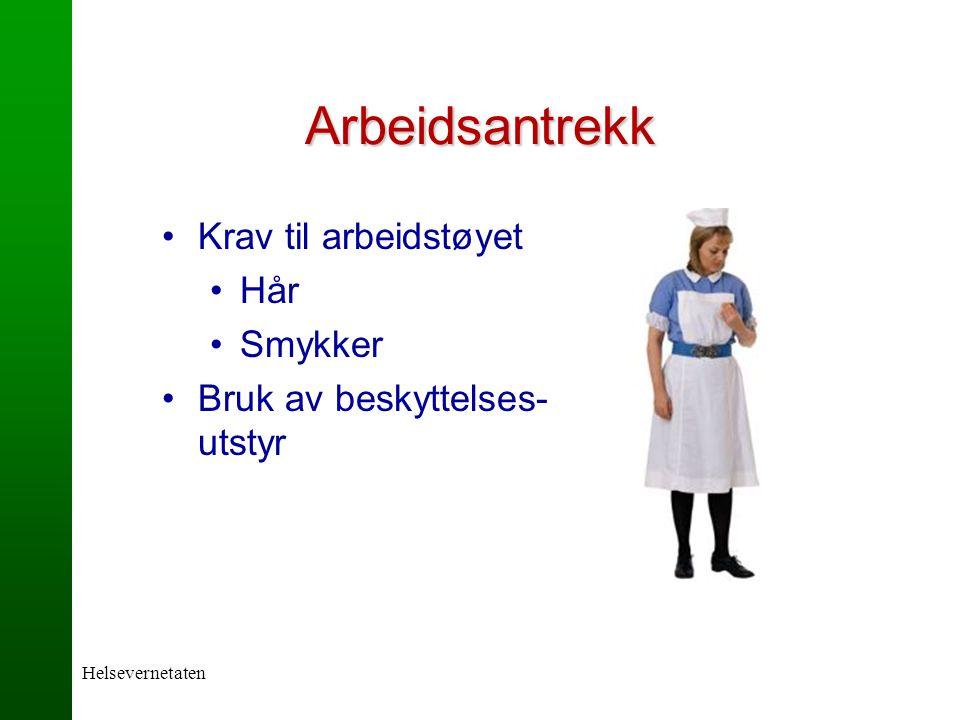 7df59401 Arbeidsantrekk Krav til arbeidstøyet Hår Smykker - ppt video online ...