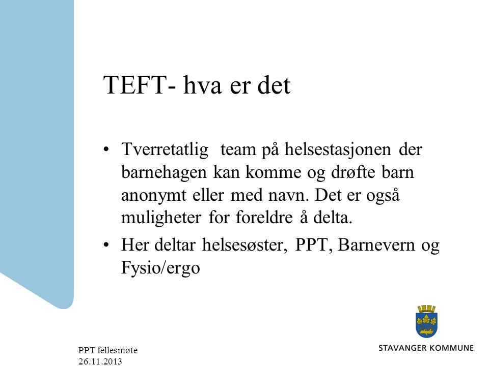 TEFT- hva er det