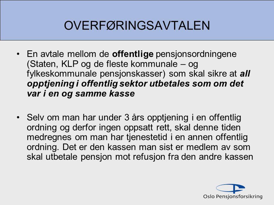 OVERFØRINGSAVTALEN