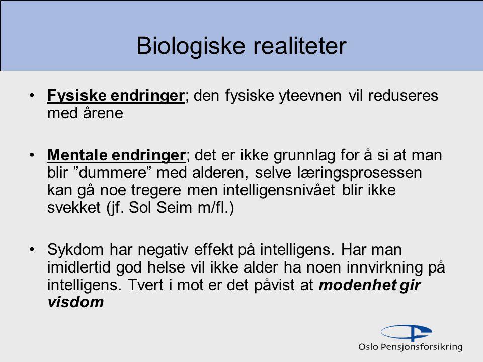 Biologiske realiteter