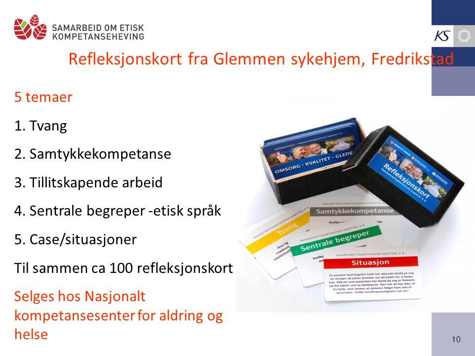 Refleksjonskort fra Glemmen sykehjem, Fredrikstad