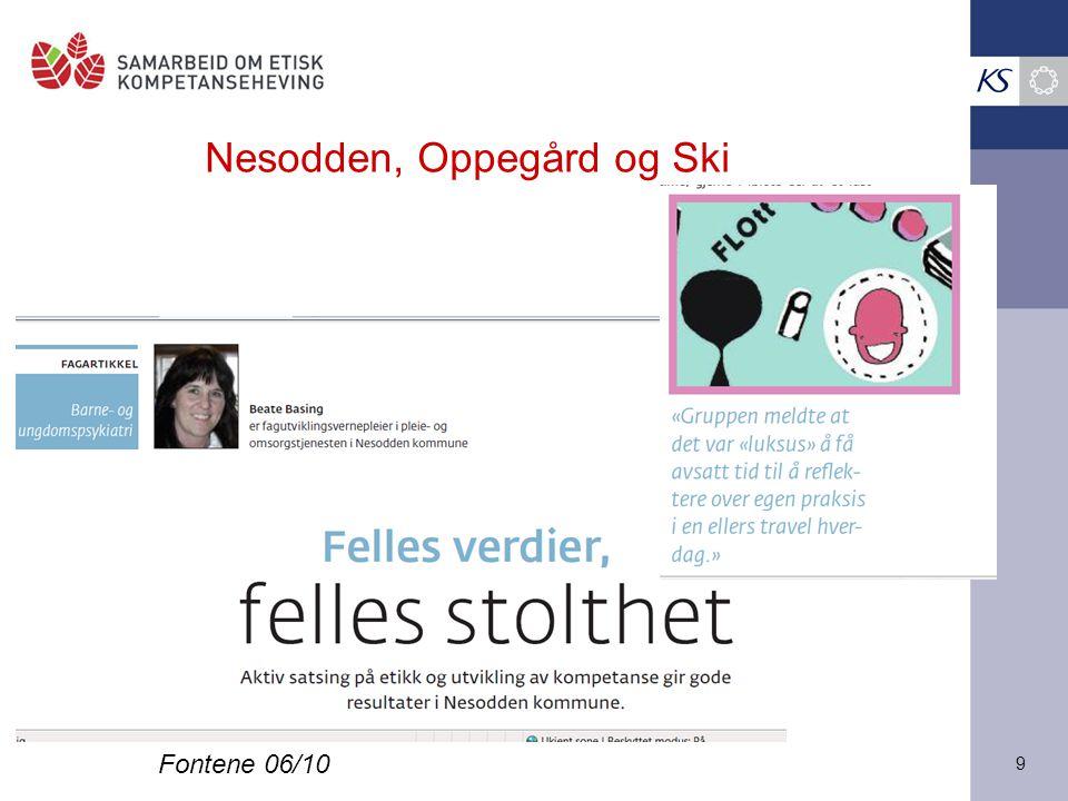 Nesodden, Oppegård og Ski